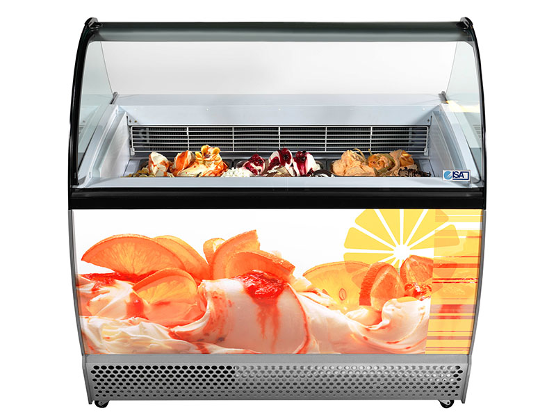Refrigerating showcase-Isa