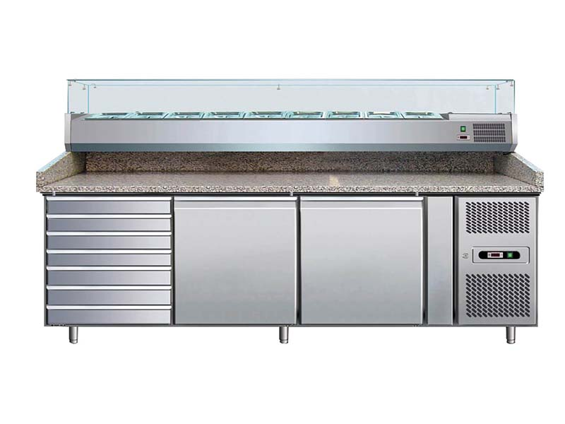 Refrigerating pizza counter-Forcar
